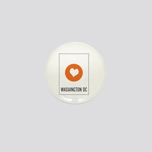 I Love Washington DC Mini Button