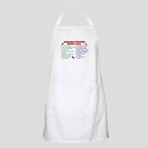 English Pointer Property Laws 2 BBQ Apron
