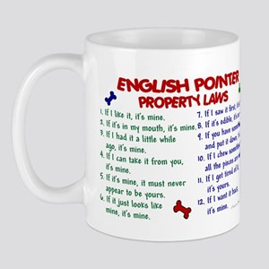 English Pointer Property Laws 2 Mug