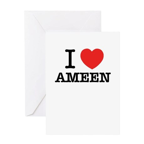 Ameen Greeting Cards CafePress
