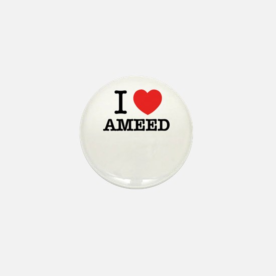 I Love AMEED Mini Button
