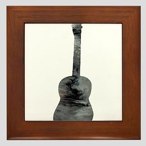 Guitar Framed Tile