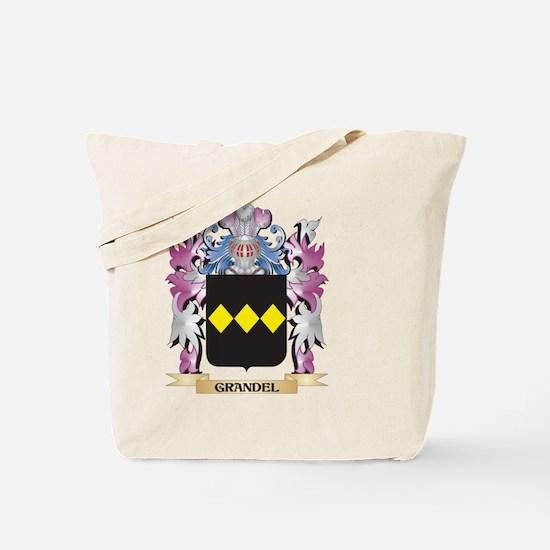 Grandel Coat of Arms (Family Crest) Tote Bag