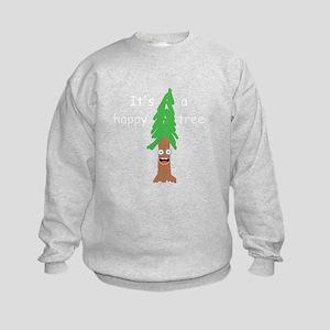 Bob Ross Kids Crewneck Sweatshirts Cafepress