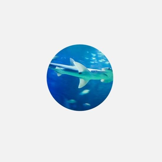 Cute Hammerhead shark Mini Button