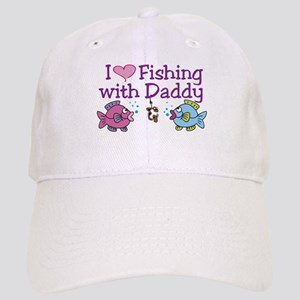 I Love Fishing With Daddy Cap