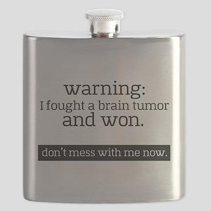 I fought a Brain Tumor Flask