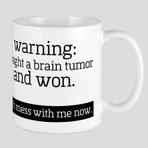 I fought a Brain Tumor Mugs