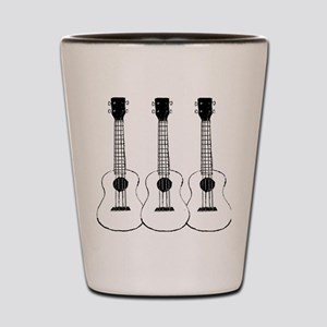 ukuleles Shot Glass