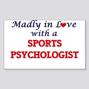 Madly in love with a Sports Psychologist Sticker