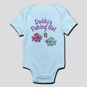 Daddy's Fishing Girl Infant Bodysuit