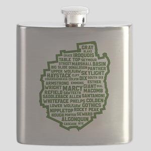 Adirondack High Peaks Flask