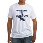 Welcome to Boston Fitted T-Shirt