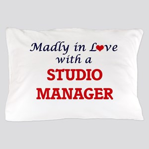 Madly in love with a Studio Manager Pillow Case