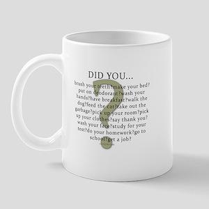 Did you...? Mug