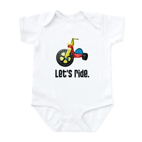 """Let's Ride"" Infant Bodysuit"