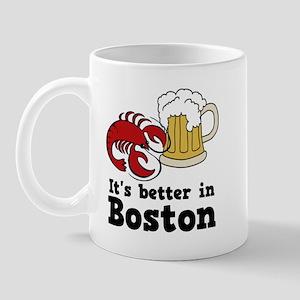 Better in Boston Mug