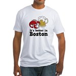 Better in Boston Fitted T-Shirt