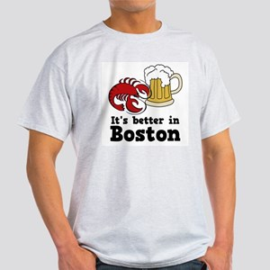 Better in Boston Light T-Shirt