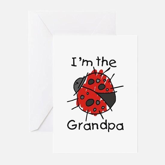 I'm the Grandpa Ladybug Greeting Cards (Pk of 10)