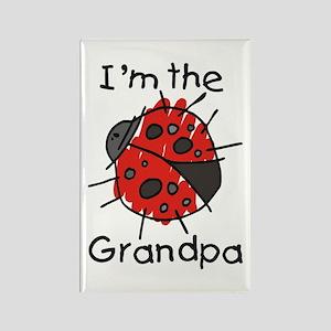 I'm the Grandpa Ladybug Rectangle Magnet