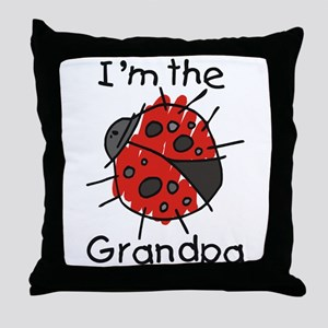 I'm the Grandpa Ladybug Throw Pillow
