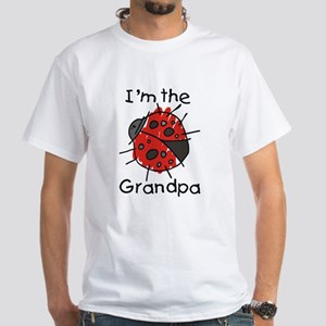 I'm the Grandpa Ladybug White T-Shirt