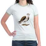 Osprey Bird of Prey (Front) Jr. Ringer T-Shirt