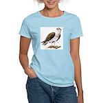 Osprey Bird of Prey (Front) Women's Pink T-Shirt