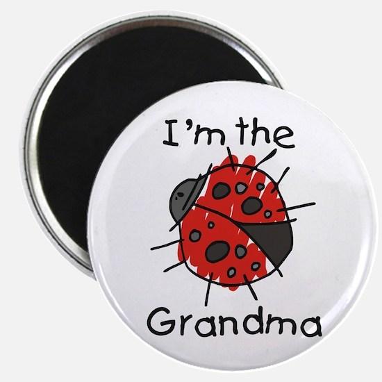 I'm the Grandma Ladybug Magnet