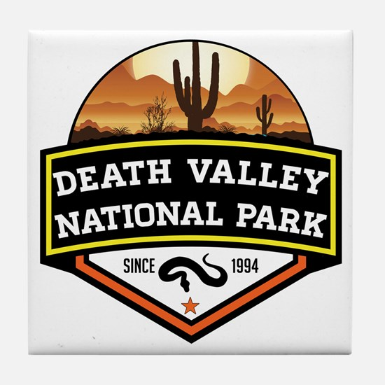 Cute Death valley national park Tile Coaster