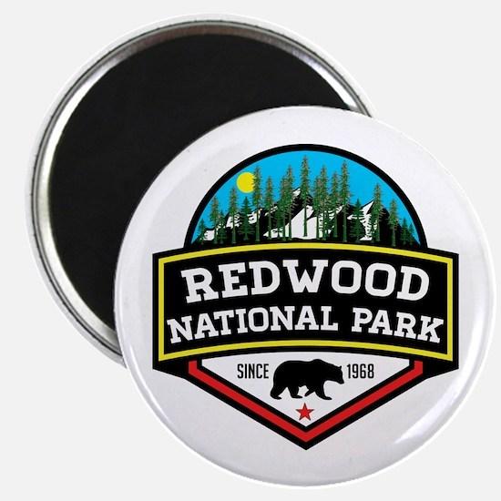 Cute Redwoods california Magnet