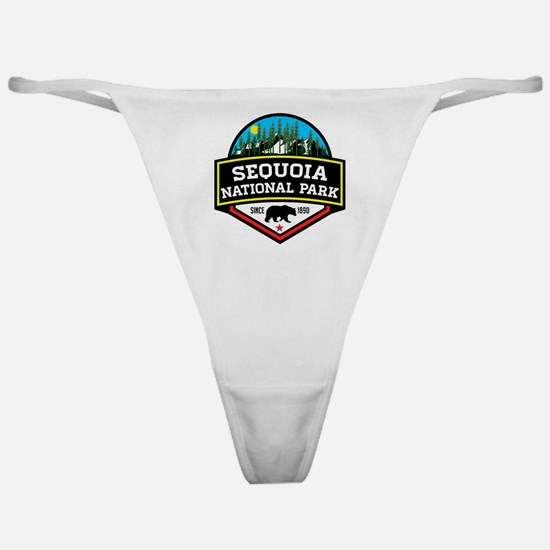 Funny Redwood national park Classic Thong