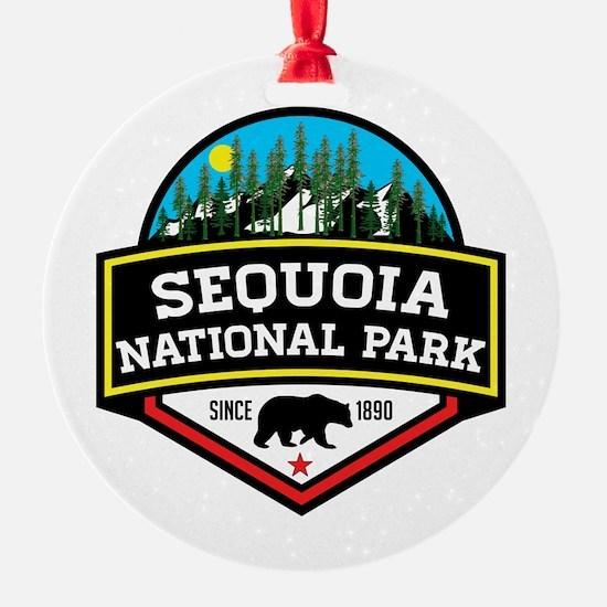 Funny Redwood national park Ornament