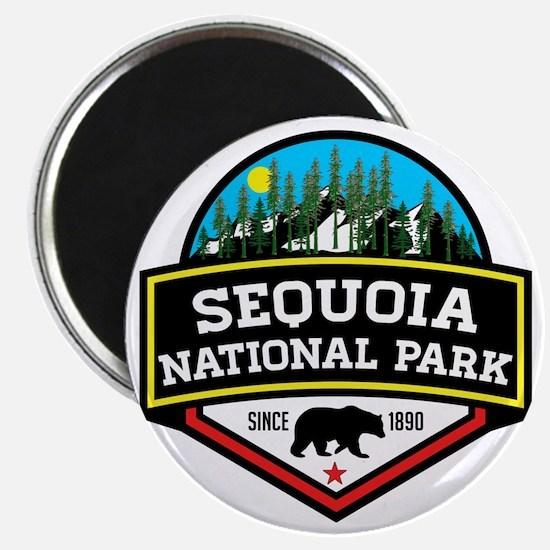 Unique Redwoods california Magnet