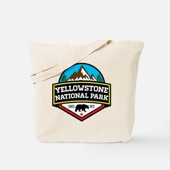 Cute Yellowstone bear Tote Bag