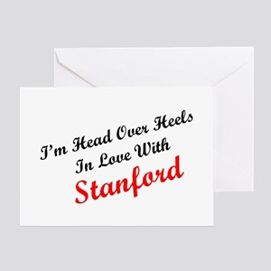 In Love with Stanford Greeting Cards