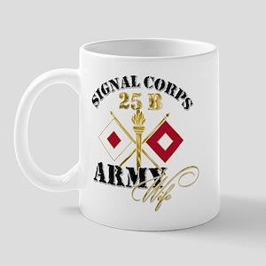 Signal Corps 25 B Mug