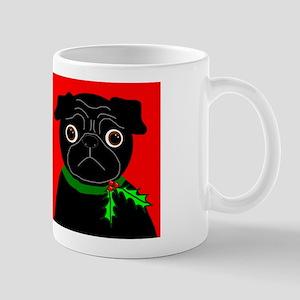 Holly - Black & Fawn Mug