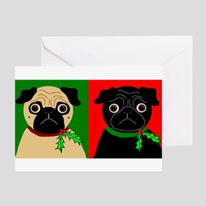Holly - Black & Fawn Greeting Cards (Pk of 10)