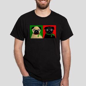 Holly - Black & Fawn Dark T-Shirt