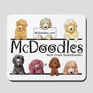 Goldendoodle McDoodles Mousepad