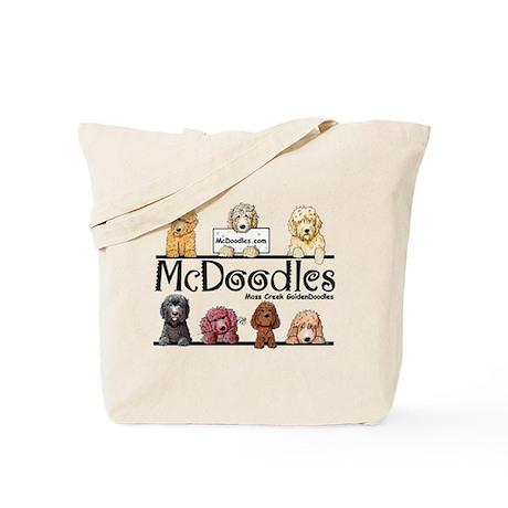 McDoodles Logo Tote Bag