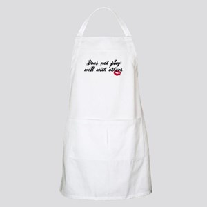Does not play well with other BBQ Apron