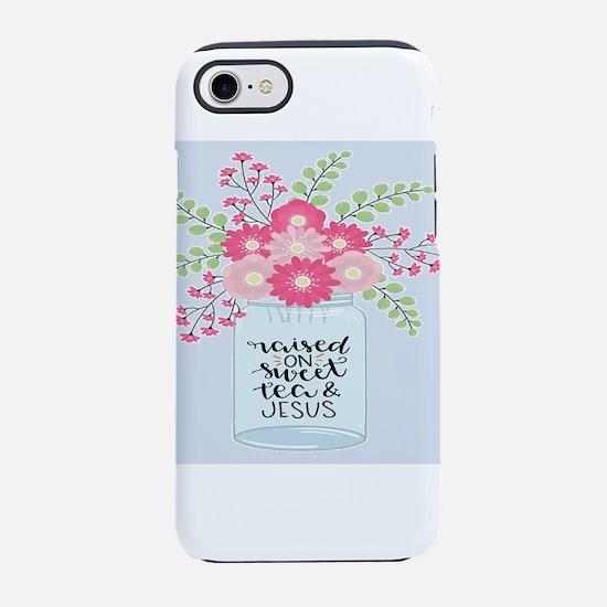 shabby chic raised on sweet iPhone 8/7 Tough Case