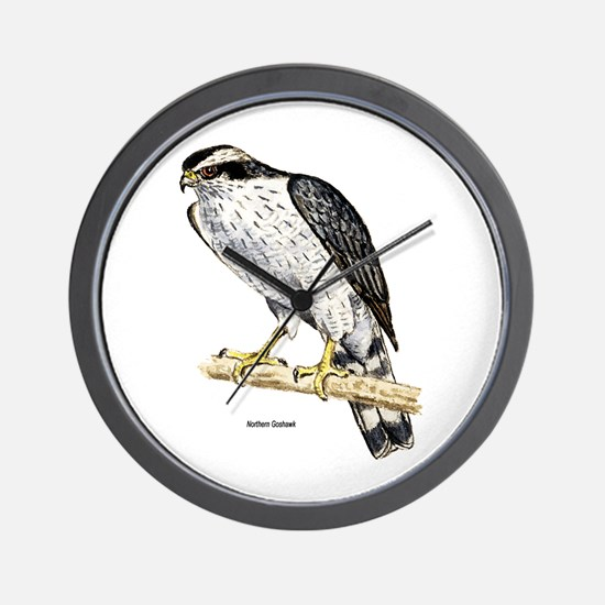 Northern Goshawk Hawk Wall Clock