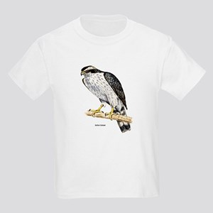 Northern Goshawk Hawk (Front) Kids T-Shirt