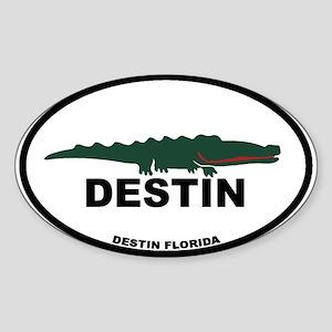Destin Florida - Alligator Design. Sticker