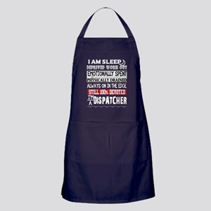 I'm A Dispatcher T Shirt Apron (dark)