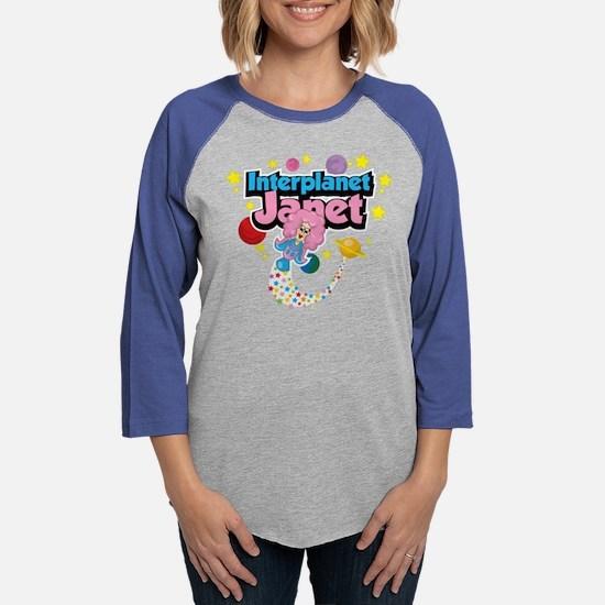 Interplanet Janet Long Sleeve T-Shirt